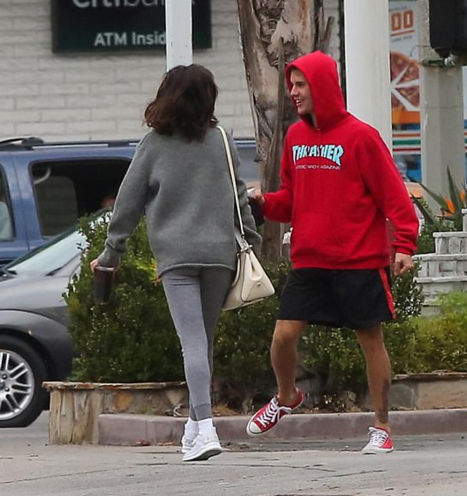 La pareja fue vista pasando un bune momento. (Foto: Mail Online)