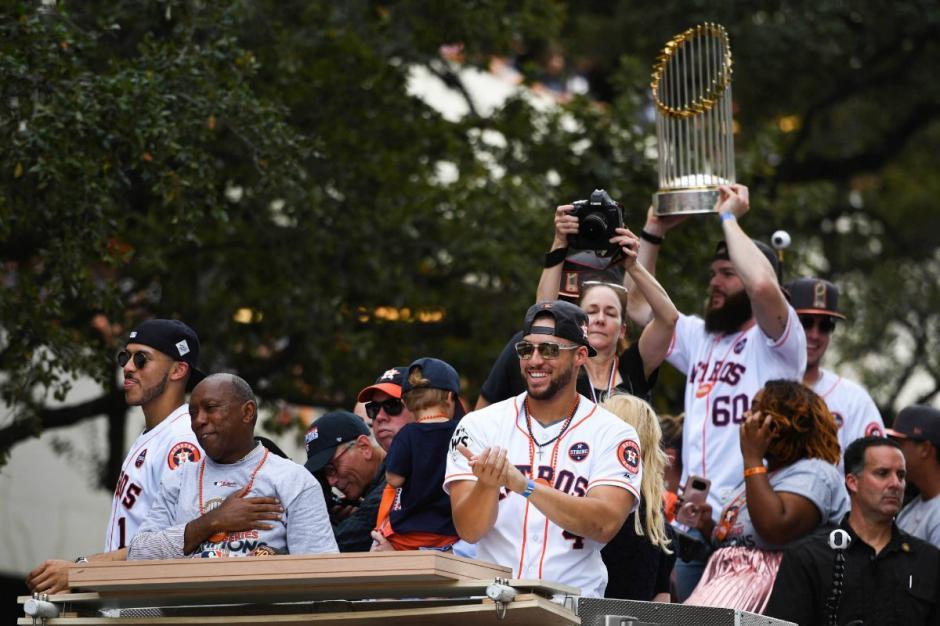 Houston recibe a los campeones de la Serie Mundial 2017. (Foto: AFP)