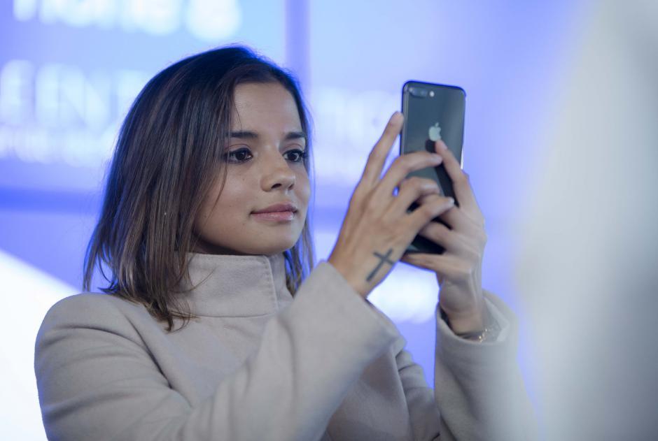 La cámara dual del iPhone 8 posee todas las características de una profesional.  (Foto: George Rojas/Soy502)