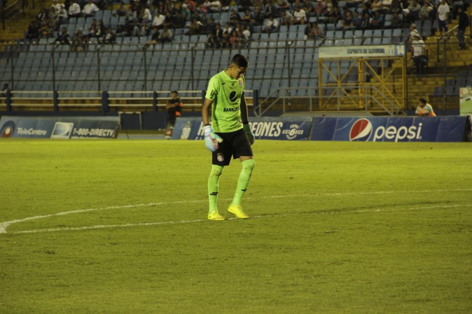 García se se lamenta por la derrota en condición de visitante. (Foto: Fredy Hernández/Soy502)
