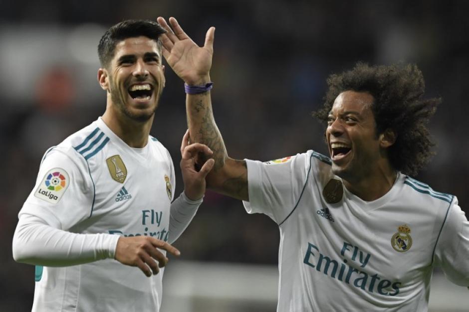 El Real Madrid recuperó la sonrisa tras su victoria frente Las Palmas. (Foto: AFP)