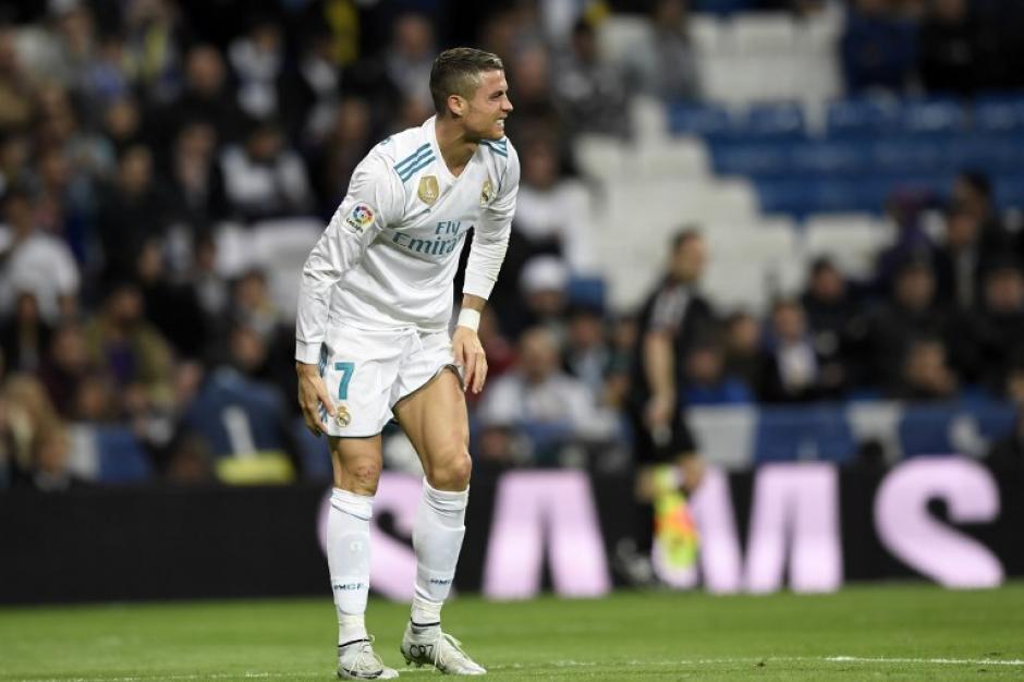 Cristiano Ronaldo solo ha sumado un gol a su cuenta goleadora esta temporada. (Foto: AFP)
