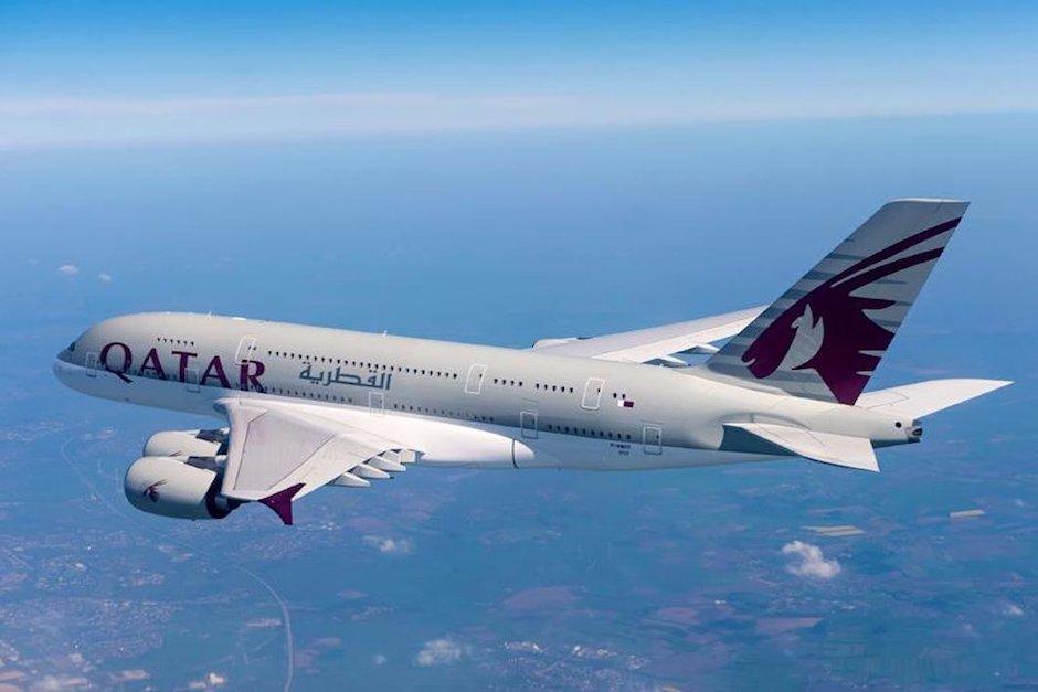 La mujer descubrió a su esposo en pleno vuelo mientras viajaban de Doha a Bali. (Foto: Business Insider)