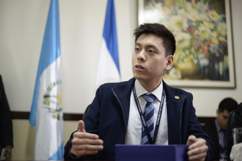 Edgar Chin es el funcionario más joven del Gobierno. (Foto: Wilder López/Soy502)
