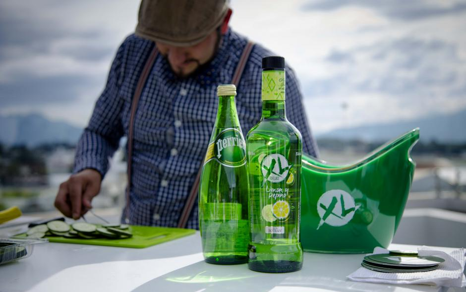 Disponible en botellas de 750 milímetros y  375 milímetros. (Foto: Víctor Xiloj/Soy502)
