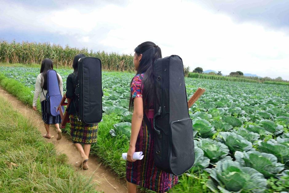 """Por ello algunos locales le llaman """"La Orquesta de las Verduras"""". (Jesús Alfonso/Soy502)"""