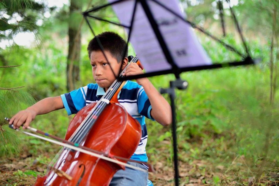 Esto es una gran inspiración para los pequeños del lugar. (Foto: Jesús Alfonso/Soy502)