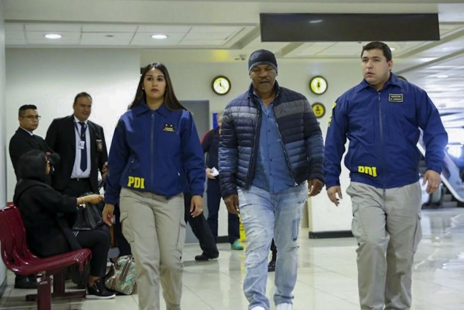 El polémico exboxeador visitaba por primera vez el país sudamericano. (Foto: AFP)