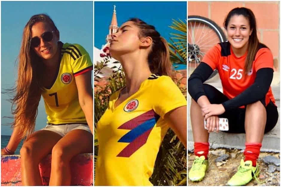 Resultado de imagen para jugadoras de colombia miss