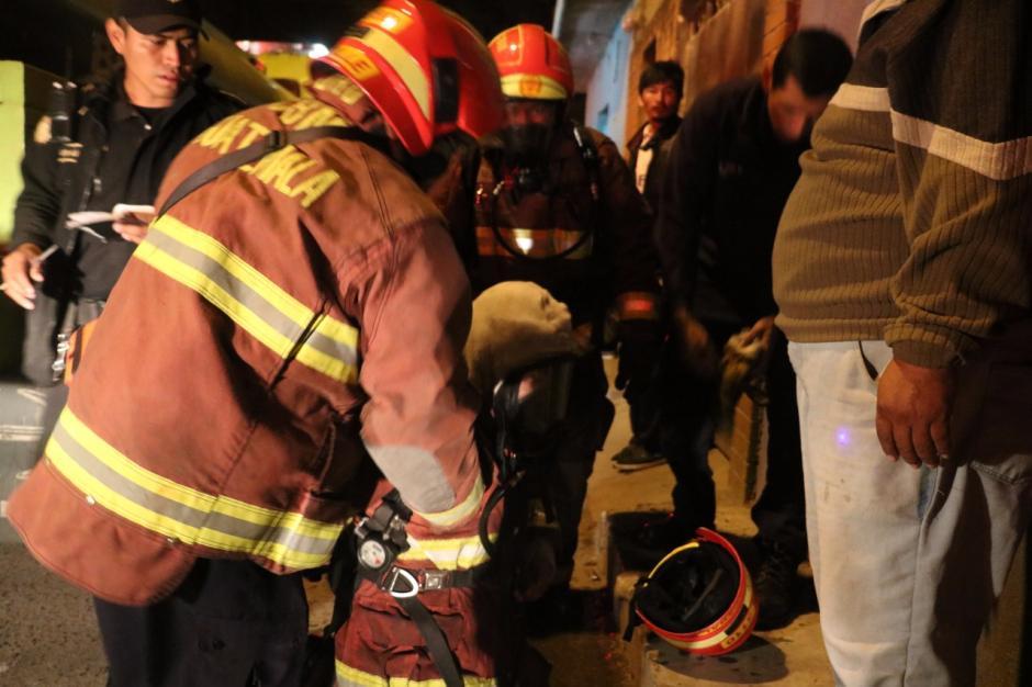 En ese lugar no es la primera vez que ocurre un incendio. (Foto: Bomberos Municipales)
