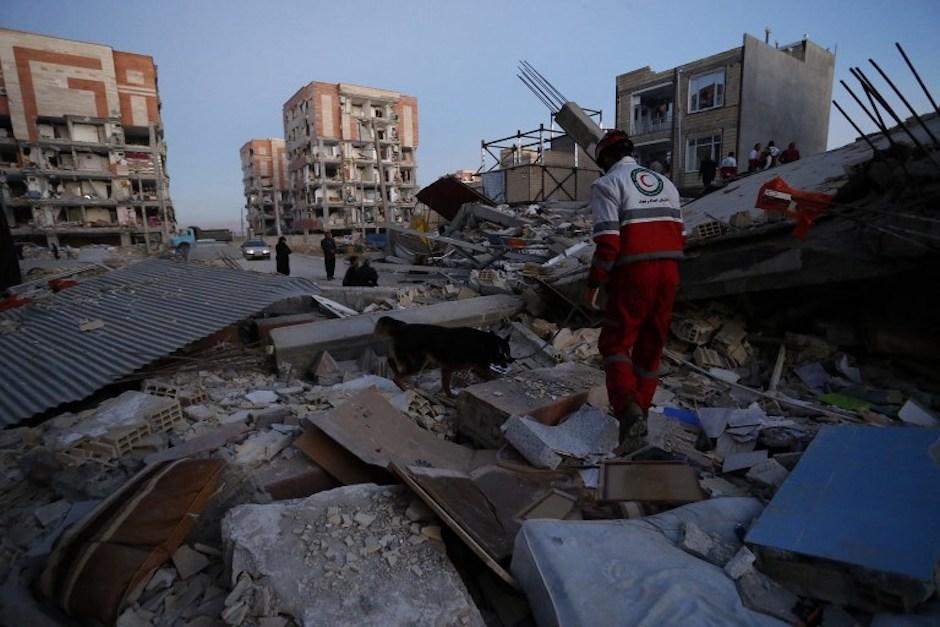 Según la última información, más de 7 mil personas resultaron heridas en Irán. (Foto: AFP)