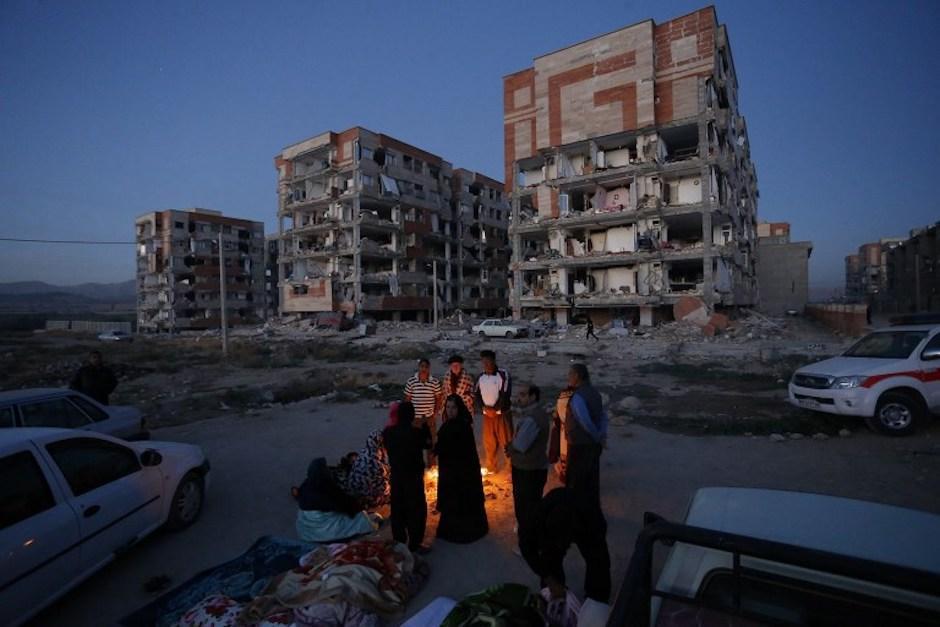 El terremoto tuvo lugar este domingo 12 de noviembre. (Foto: AFP)