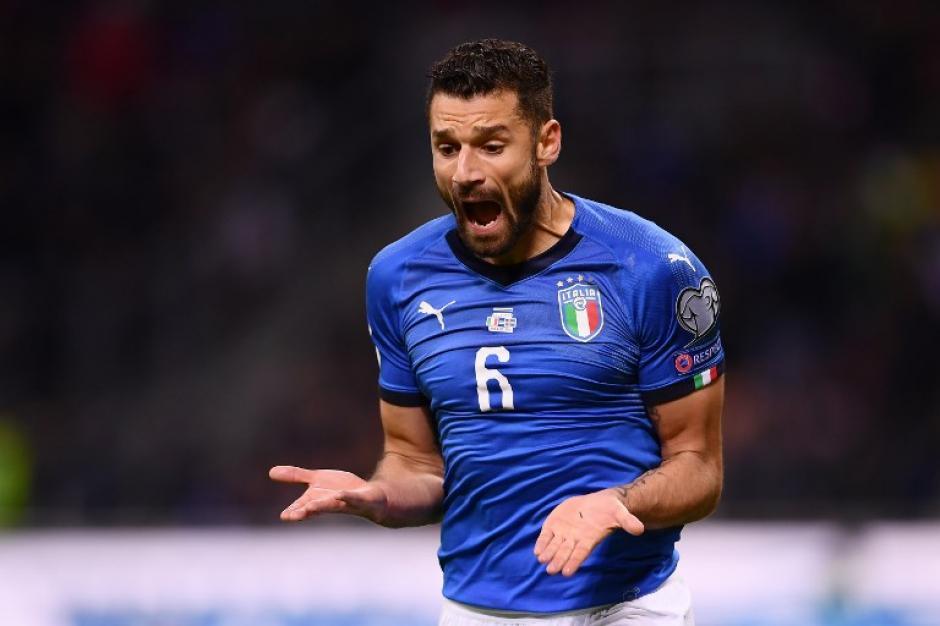 Los italianos sufrieron durante todo el partido. (Foto: AFP)
