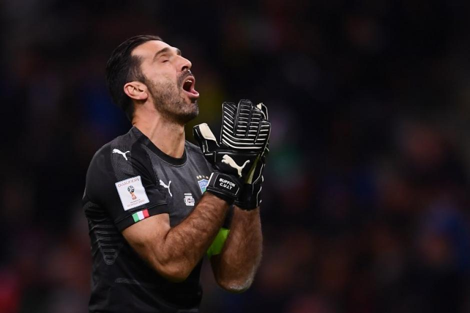 Buffon no podrá despedirse de la Selección italiana en el Mundial. (Foto: AFP)