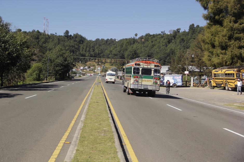 La ruta Interamericana es uno de los principales puntos para el transporte de la especie amenazada. (Foto: Fredy Hernández/Soy502)