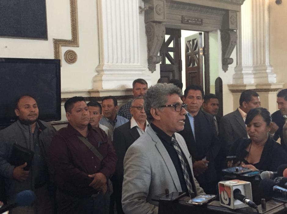 Dos diputados de la UNE promueven esta propuesta. (Foto: José Miguel Castañeda/Soy502)