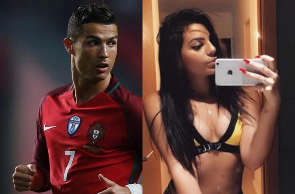 Cristiano Ronaldo habría sido infiel a su actual novia Georgina Rodríguez. (Foto: Twitter)