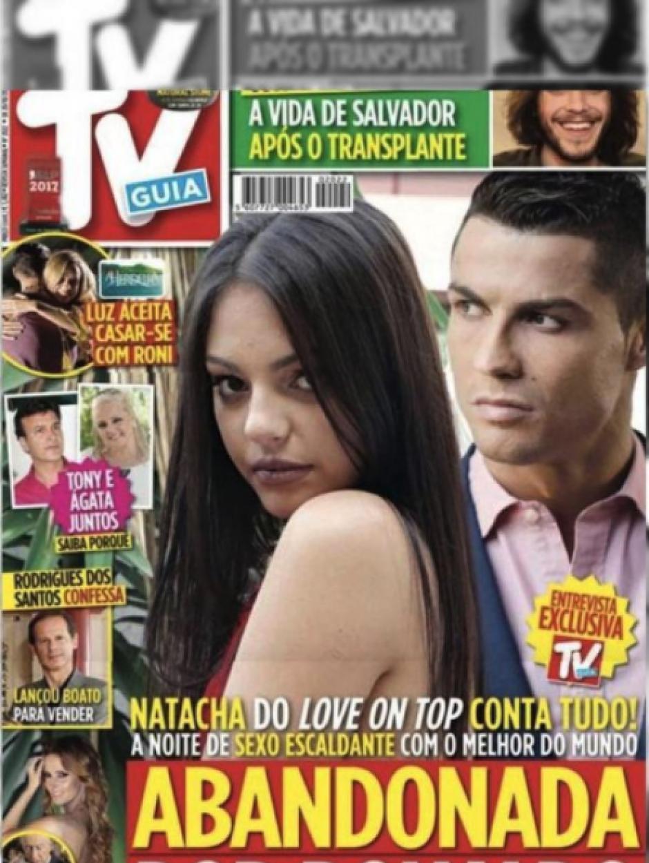 Medios portugueses publican la supuesta infidelidad de CR7. (Foto: TV Guia)
