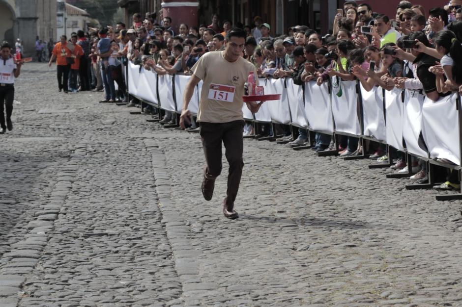 Esvin Shoc consiguió la primera posición en la categoría masculina. (Foto: Alejandro Balán/Soy502)