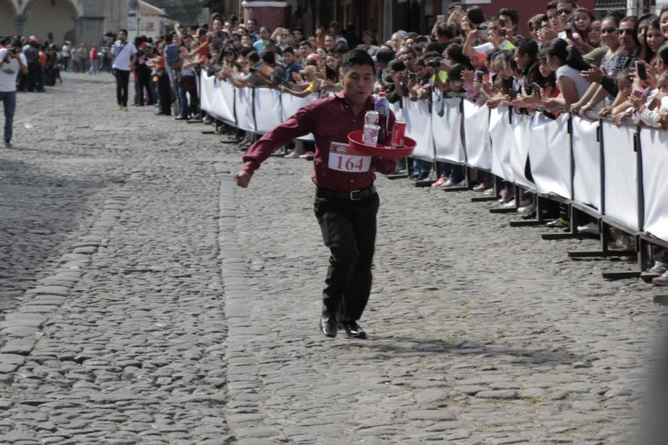 Edgar René Buc se quedó a unos metros de la victoria. (Foto: Alejandro Balán/Soy502)