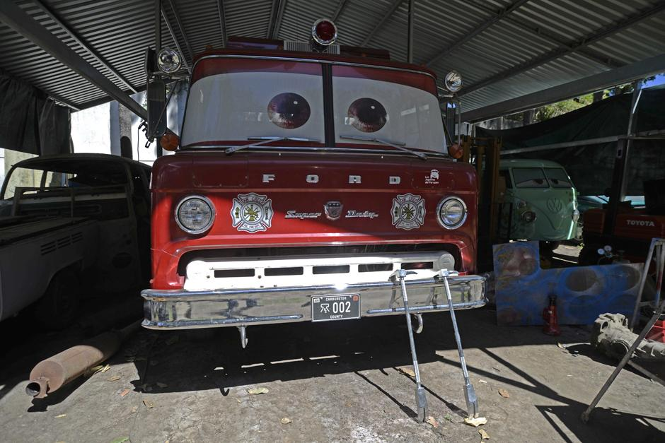 El carro de bomberos fue adquirido en Arkansas, Estados Unidos. (Foto: Wilder López/Soy502)