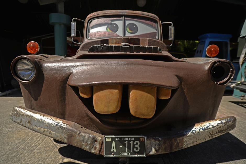 Mate es el auto que más trabajo ha llevado al creador. (Foto: Wilder López/Soy502)