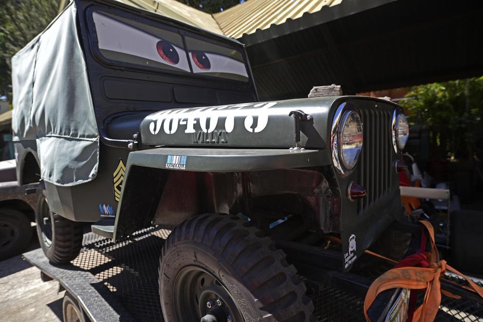 Sarge es un carro militar igual al de la saga. (Foto: Wilder López/Soy502)
