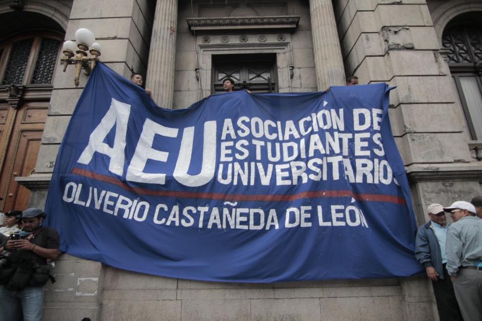 La AEU fue la que convocó a la marcha y diversos sectores se sumaron. (Foto: Alejandro Balán/Soy502)