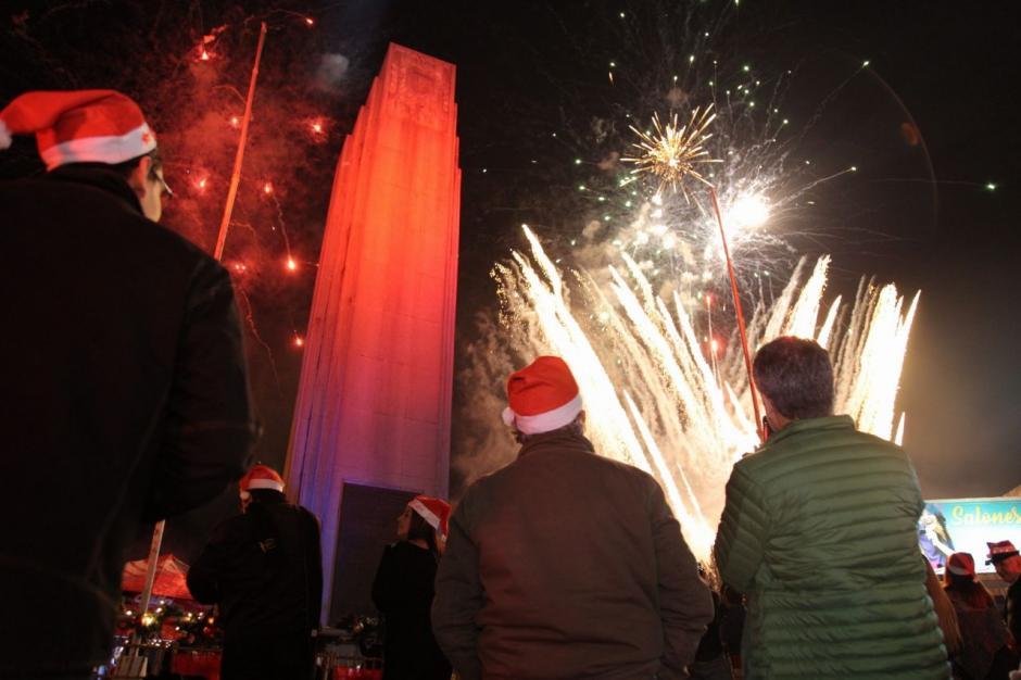Para los guatemaltecos la época navideña inicia con este espectáculo. (Foto: Víctor Xiloj/Soy502)