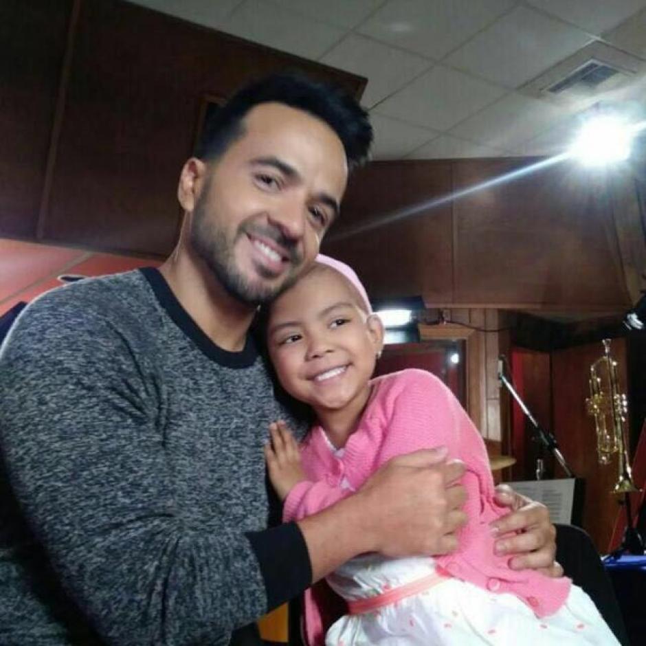Luis Fonsi eligió a Valeria para hablar de la lucha contra el cáncer del Saint Jude Children's Research Hospital. (Foto: Selene Mejía/Soy502)
