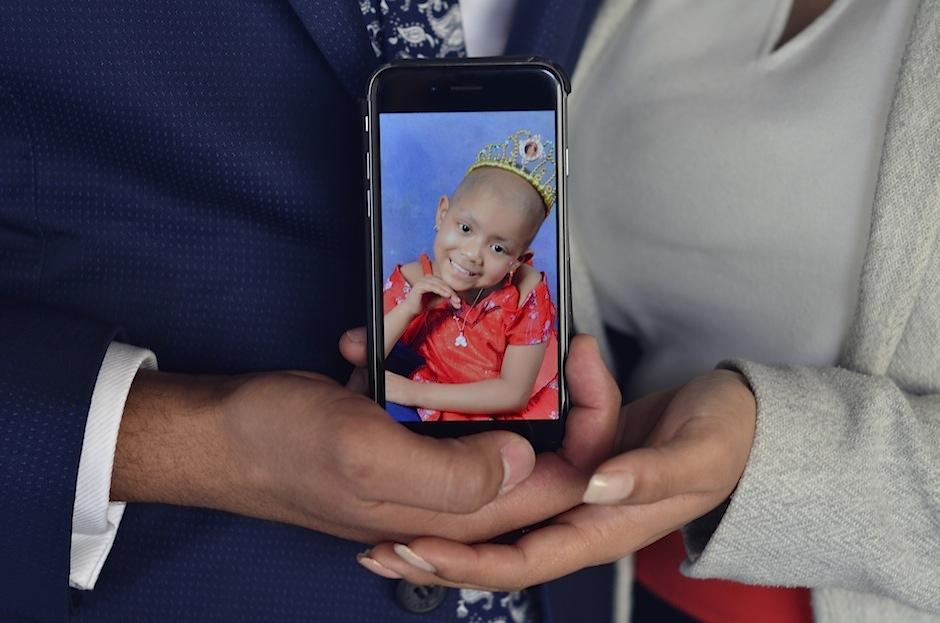 Valeria Mendoza es la pequeña que, por su lucha contra el cáncer, ganó el corazón de Luis Fonsi. (Foto: Selene Mejía/Soy502)