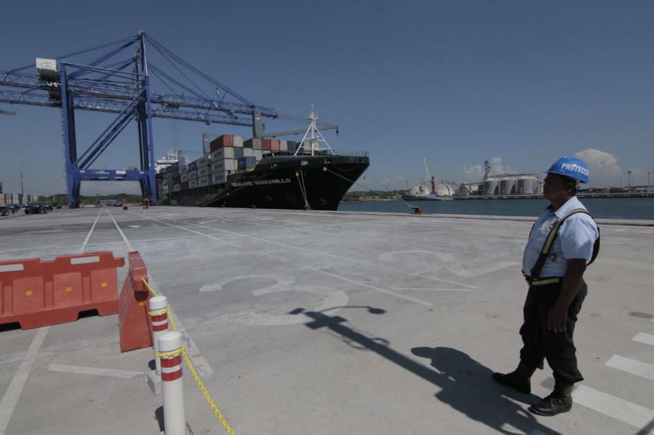 La terminal de contenedores reinició operaciones en febrero. (Foto: Alejandro Balán/Soy502)