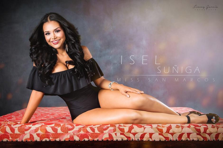 Isel Suñiga representó a San Marcos en Miss Guatemala. (Foto: Jimmy García Fotografía)