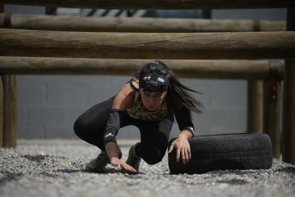 Mónica Cortave es la primera guatemalteca en participar en la Spartan Race. (Foto: Wilder López/Soy502)