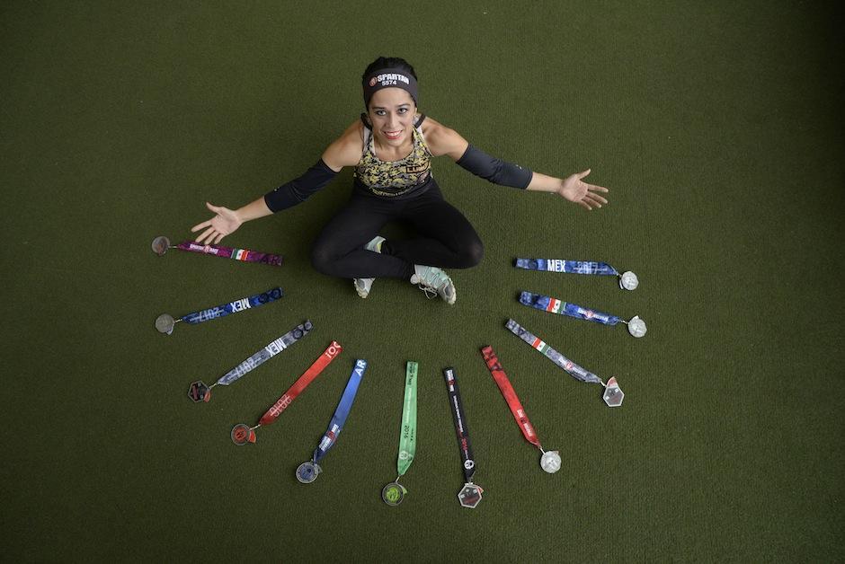 Mónica es una veterana en esta competencia. (Foto: Wilder López/Soy502)