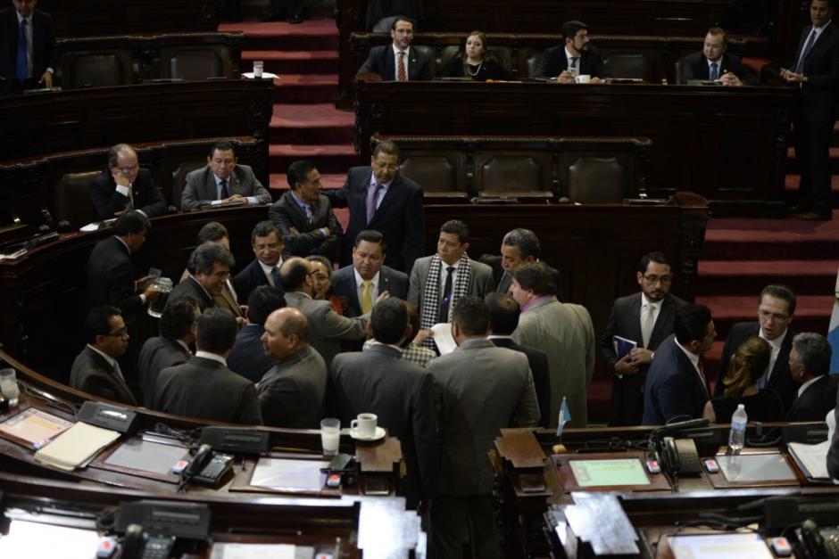 Los diputados se reunirán nuevamente este miércoles a las 18:00 horas. (Foto: Wilder López/Soy502)