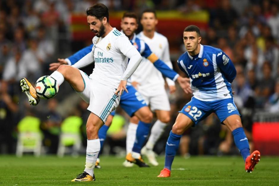 Isco marco doblete y le dio el triunfo al Real Madrid. (Foto: AFP)