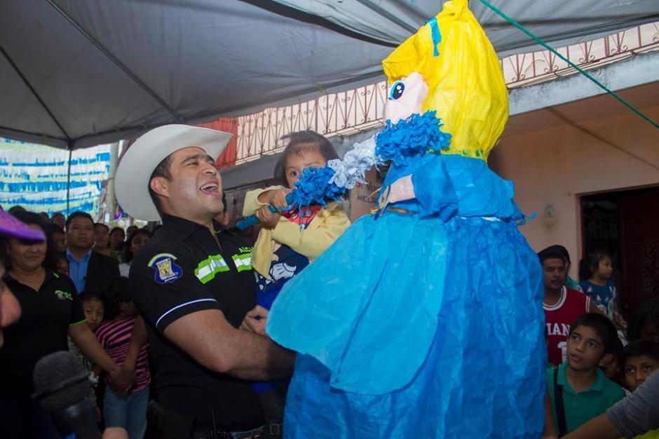 La celebración se efectuó en varios puntos del municipio. (Foto: Municipalidad de Mixco)
