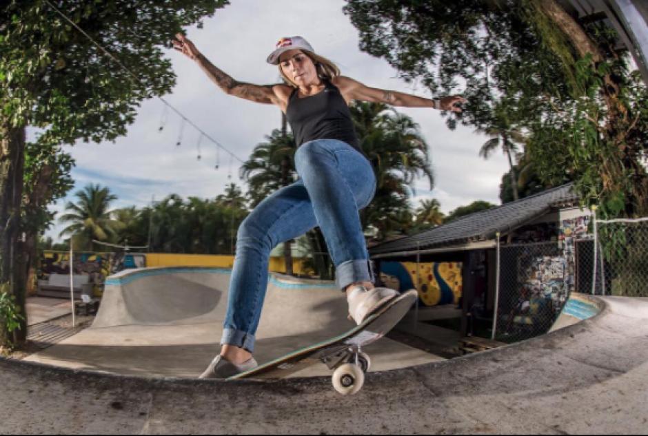 Siu giros, saltos y acrobacias la ubican como la mejor pagada del mundo. (Foto: Instagram)
