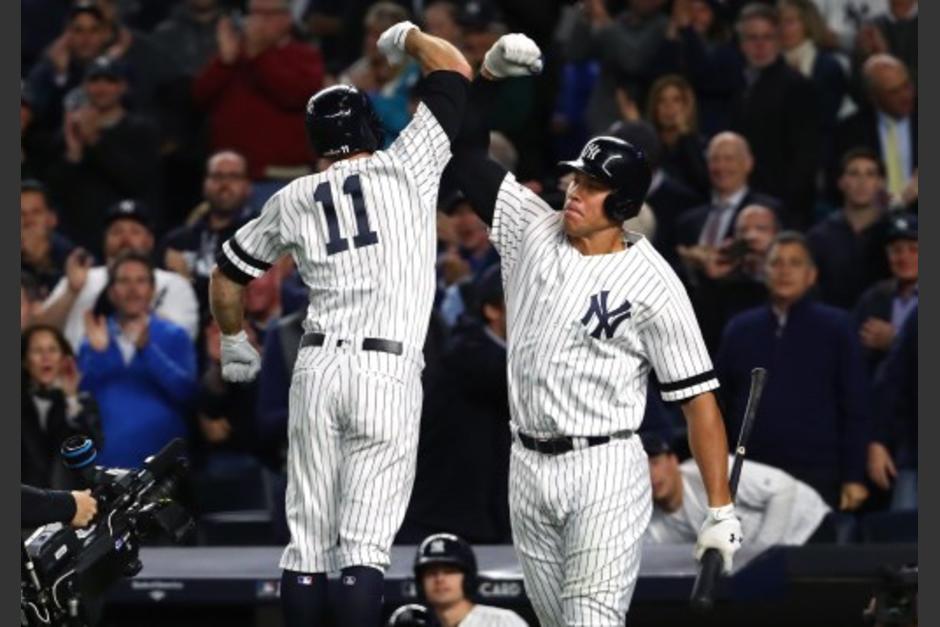 Los Yankees vinieron de atrás y vencieron a los Mellizos. (Foto: AFP)