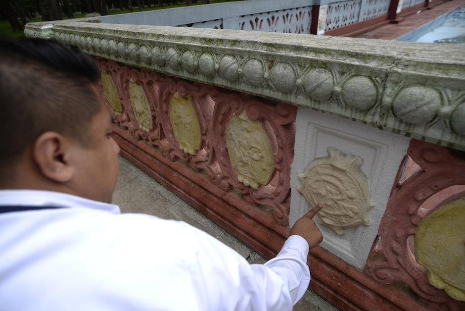 Su muro perimetral tiene 6 medallones conmemorativos.  (Foto: Wilder López/Soy502)