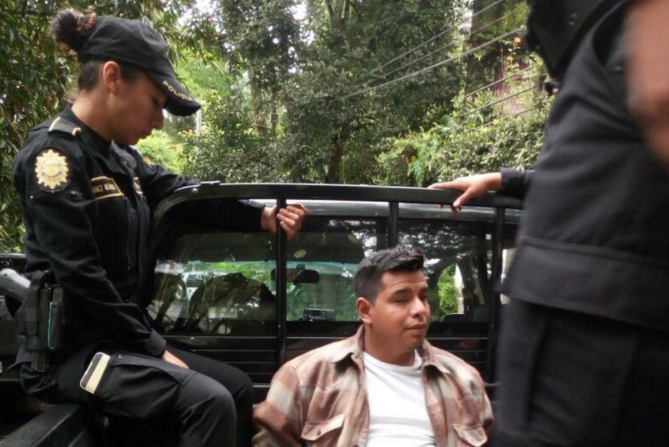 La PNC informó sobre la detención del supuesto violador. (Foto: PNC)