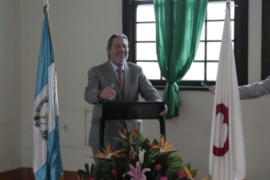 Enrique de León Asturias renunció a su curul en septiembre. (Foto: Alejandro Balán/Soy502)