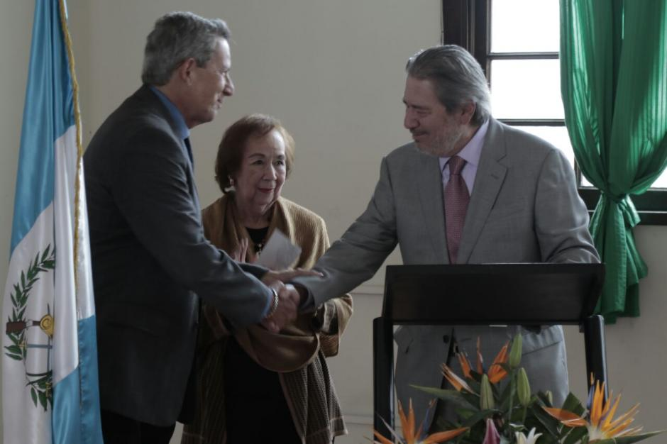 El exdiputado donó Q40 mil a la Sociedad Protectora del Niño. (Foto: Alejandro Balán/Soy502)