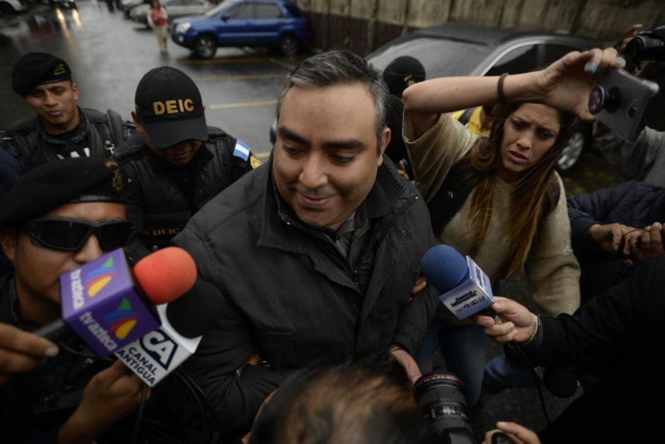 Luis Lima negó vinculaciones con una red de lavado de dinero. (Foto: Wilder López/Soy502)