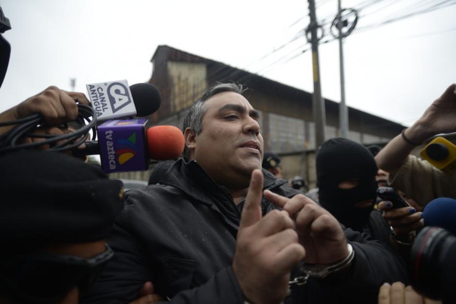 El hermano del capitán Byron Lima es acusado por el MP y la CICIG. (Foto: Wilder López/Soy502)