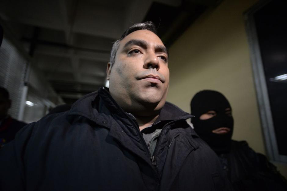 """A su llegada a Tribunales expresó que se trata de """"persecución política"""". (Foto: Wilder López/Soy502)"""
