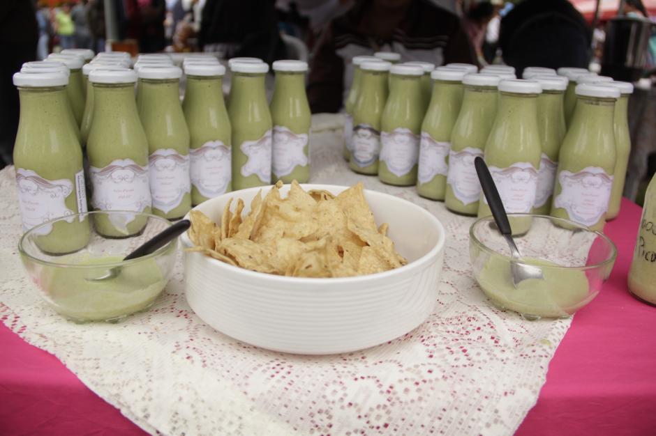 La salsa picante a base de chiltepe también tuvo un reconocimiento. (Foto: Fredy Hernández/Soy502)