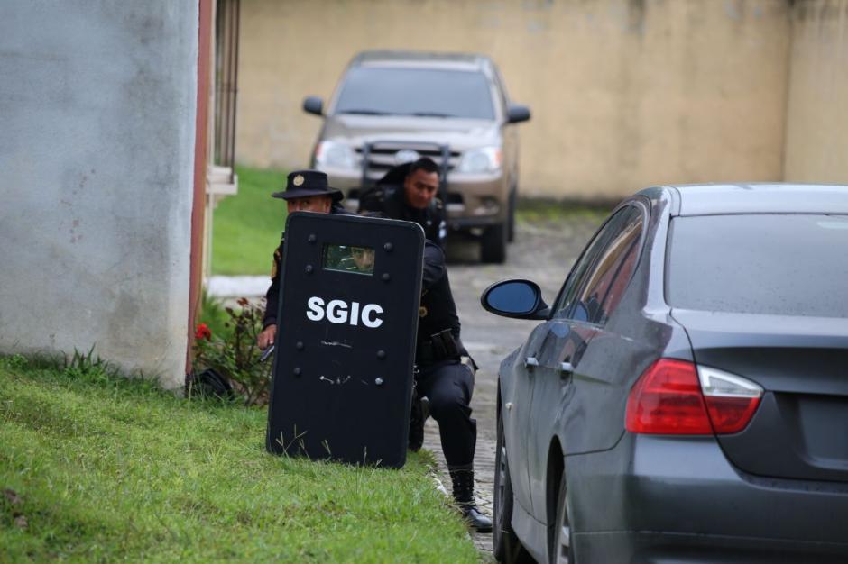 El detenido sería líder de la pandilla Salvatrucha en aquel país. (Foto: PNC)