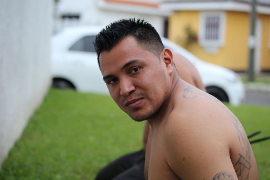 """""""El Snoopy"""" fue detenido en Guatemala pedido por El Salvador. (Foto: PNC)"""